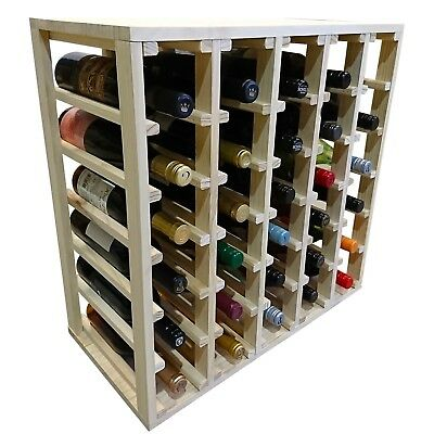 30 Bottle Lattice Wine Cube - Premium. Professional. Reliable. Wine Stash