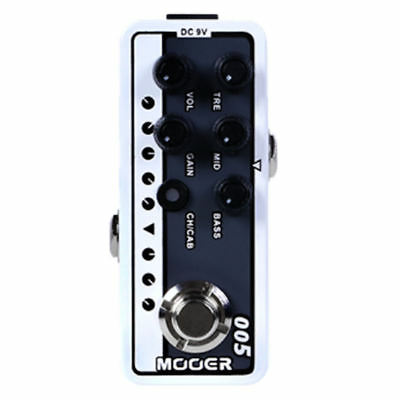 Mooer Micro Preamp 005 Brown Sound 3 Guitar Effects Pedal Based on 5150 New