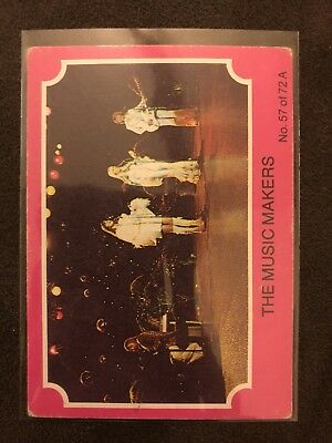 Scanlens 1976 Pink ABBA Card #57 The Music Makers