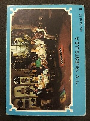 Scanlens 1976 Blue ABBA Card #64 TV Guests USA