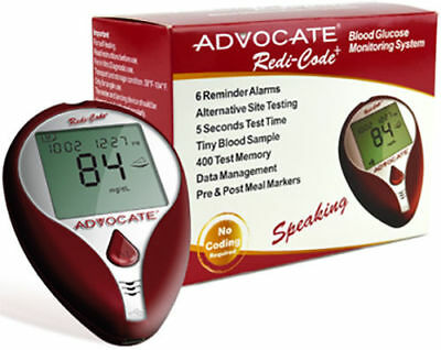 Advocate Redi-Code+ Speaking Glucose Meter Only--Depend On Us!