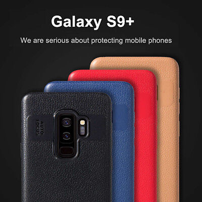 Luxury Leather Ultra Slim Back Case Cover For Samsung Galaxy S9 Plus A8 A8+ 2018