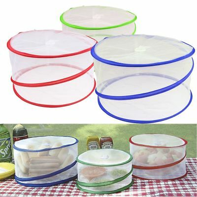 3 Size/Set Collapsible Pop Up Food Cover Mesh Outdoor BBQ Picnic Protector Net
