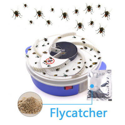 Special Offer Electric Fly Trap Device with Trapping Food -WHITE USB CABLE 2018