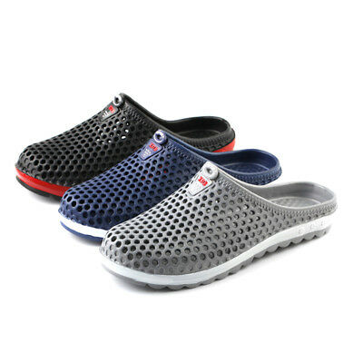 Men Women Breathable Slippers Hollow-out Beach Sandals Garden Hole Shoes Xy