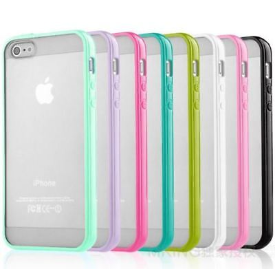 Slim Bumper Back Case Cover Silicone Rubber Protective Cover for iphone 6 6Plus