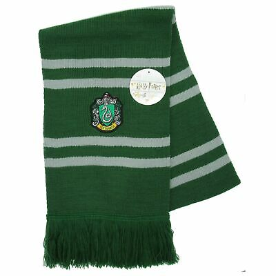 Harry Potter SCIARPA UFFICIALE Casa SERPEVERDE Original WARNER BROS Draco Malfoy