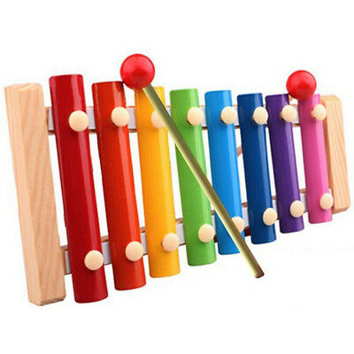 Kid Baby Musical Fun Toy Instrument 8-Note Xylophone Wisdom Development Toys USA