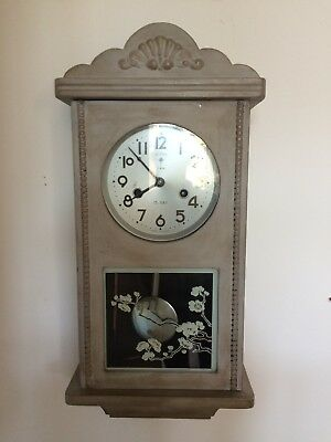 Wall Clock Vintage Polaris 15 day with lovely chime