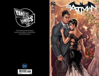 Batman 50 Wedding Yancy St Comics Exclusive Variant Dawn McTeigue Presale signed