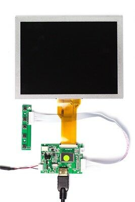 "Raspberry Pi HDMI 8"" LCD Screen Kit (Pimoroni)  - Used Once, Perfect Condition"