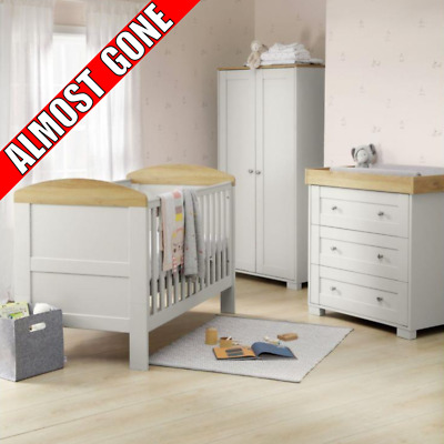 Incredible Baby Bedroom Furniture Set Mammas And Papas Nursery Cot Wardrobe Chest Drawers Download Free Architecture Designs Ferenbritishbridgeorg