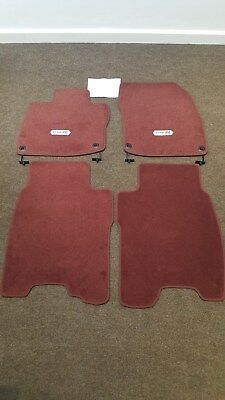 Genuine Honda Civic Type R FN2 Carpet Mat Set NEW 2008-2011 (LHD) Non UK