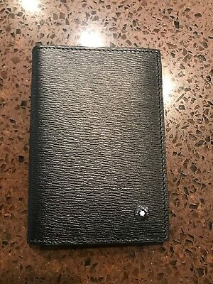 MONT BLANC WESTSIDE Business Card Holder with gusset. Perfect Father's Day gift!