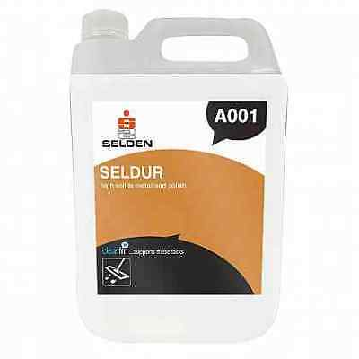 Selden A001 Seldur High Solids Floor Polish - 5 Litres - FREE 48 HOUR DELIVERY