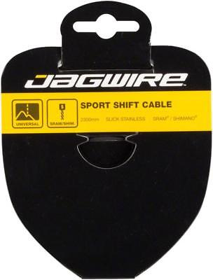 Jagwire Slick Stainless Shift Derailleur Shifter Cable 2300mm 1.1mm SRAM Shimano