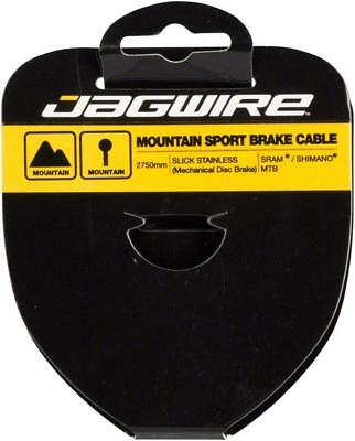 NEW Jagwire Sport Brake Cable Slick Stainless 1.5x2750mm Mountain Tandem
