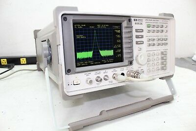 HP Agilent 8563E Spectrum Analyzer 9 khz - 50 GHZ if w/ mixers Calibration Cert