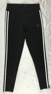 d096faa5a8232 Adidas Women's Designed 2 Move 3 Stripes Training Tights Black CE2036 Size  2XS