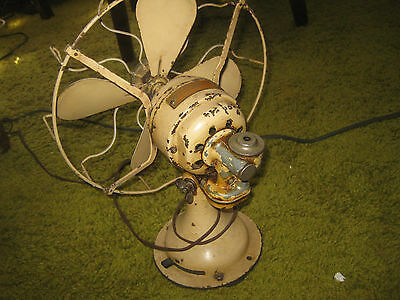 Vintage Westinghouse Electric Fan Circa 1940's