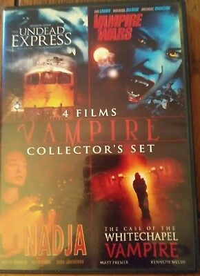 Vampire Collector's Set (DVD) 4 Movies - See Description For Titles & Infomation