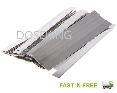 10 X 10CM Pure 99.7% Nickel Strip / Tape Ni T For 18650 Battery Spot Welding- AU