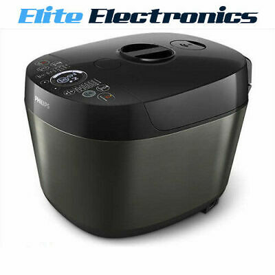 Philips Hd2145 Deluxe Non-Stick Fast Slow Pressure All-In-One Cooker