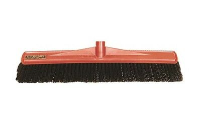 Workman Broom Heavy Duty Hercules Hard Bristles  Rough Surfaces 600mm Head Only