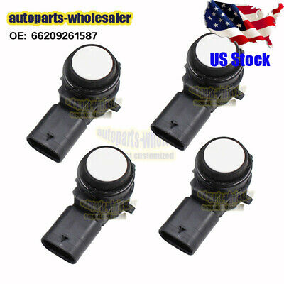 4Pcs/set Genuine 66209261587 Parking Sensor PDC For BMW F20 F22 F30 F31 F32 F34