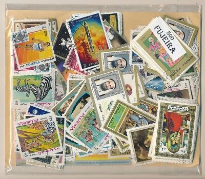 Fujeira Parcel service 500 stamps different