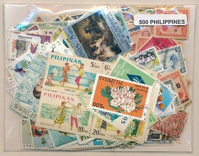 Philippines Parcel service 500 stamps different