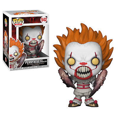 Funko Pop! Movies 542 IT Pennywise with Spider Legs Pop Vinyl Figure FU29526