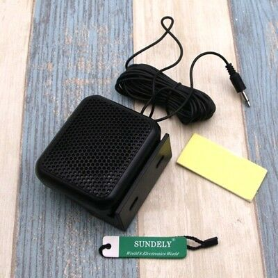 Sealed Mini External Portable Speaker For Uniden GME Icom Mobile CB Radio 3.5mm