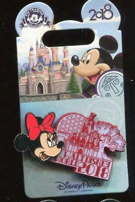 WDW 2018 Dated Collection Minnie Mouse Disney Pin 126765