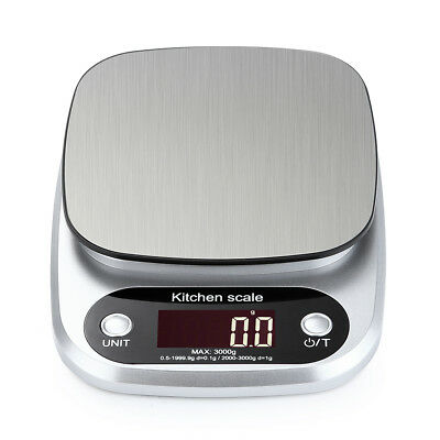 Digital Electronic Kitchen Food Diet Postal Scale Weight Balance Durable RR