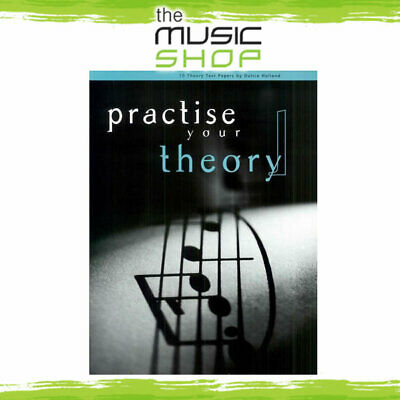 Practise Your Theory Grade 1 - For AMEB Theory Exams - Music Book