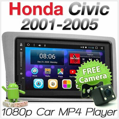 ANDROID CAR MP3 Player For Honda Civic Hatch EP2 EP3 Stereo Radio GPS  Fascia Kit