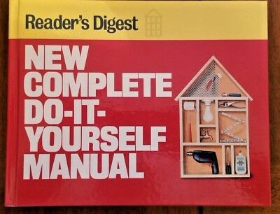 New complete do it yourself manual by editors of readers digest readers digest new complete do it yourself manual 1991 hardcover solutioingenieria Choice Image
