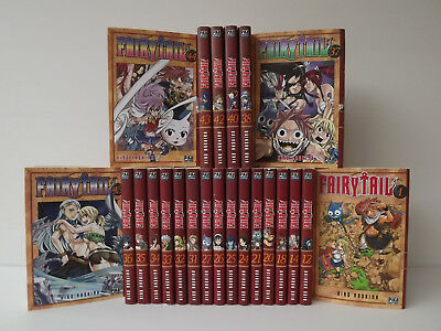 Lot de 23 Mangas FAIRY TAIL - Hiro Mashima - Pika Edition