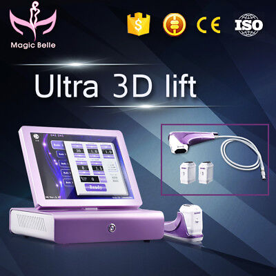 Hot Selling!! Portable 3D HIFU skin lifting wrinkles remover fat burning machine