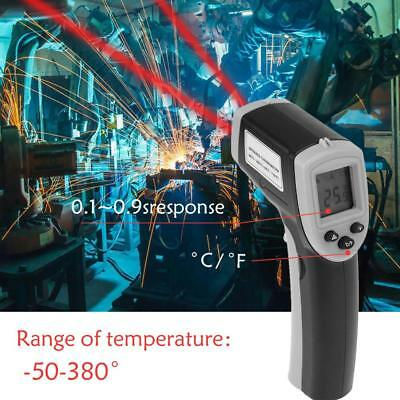 Digital-Infrarot IR Thermometer Pistole - 50 bis 380℃ Messergeräte LCD Display