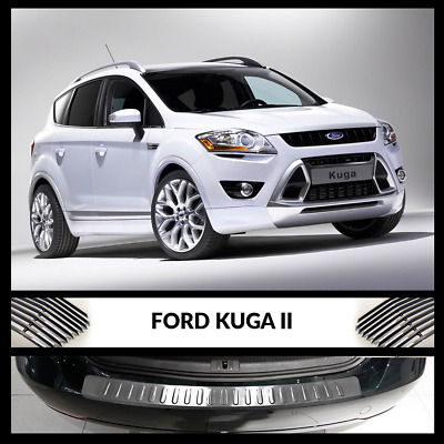 New Ford Kuga MK2 Rear Bumper Chrome Cover / Protector Stainless Steel 2012-2016