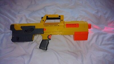 Nerf N-Strike Deploy CS-6 Blaster Gun and 6 Dart Clip Magazine