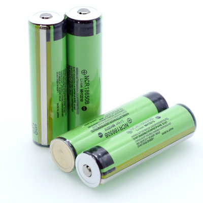4x Genuine Panasonic Protected NCR18650B 3400mAh Rechargeable Battery with PCB