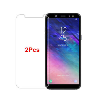 2x9H Cover Tempered Glass For Samsung Galaxy J4 J6 J8 2018 Screen Protector Film