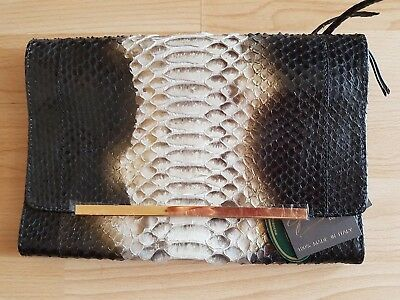 Ghibli leather clutch. Made in Italy 3c634a0f501