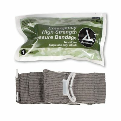 "(Israeli Type) Tourniquet Trauma Bandage 4"" Medical Army Military Emergency 3683"