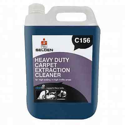 Selden C156 Heavy Duty Extraction Shampoo - 5 Litres - FREE 48 HOUR DELIVERY