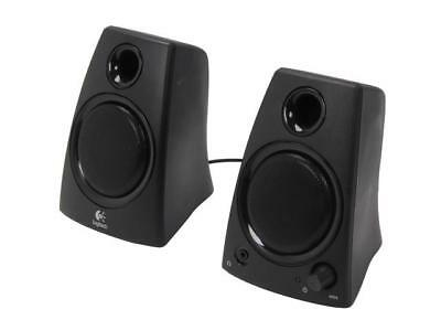 Logitech Certified Refurbished Z130 (980-000417) 5 Watts 2.0 Speakers 3.5 mm Jac