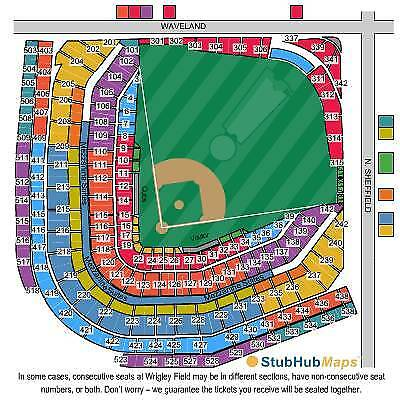 Buy 1 To 14 Chicago Cubs Lower Level Tix Vs Tigers 7 3 18 Section